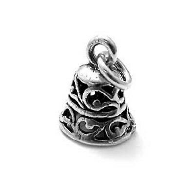 925 Sterling Silver Bell Charm