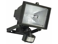 BRAND NEW & BOXED - 500W HALOGEN FLOODLIGHT SECURITY LIGHT WITH MOTION PIR SENSOR