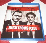 Righteous Kill Blu Ray
