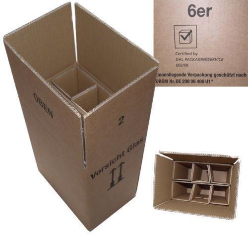 versandkarton f r flaschen g nstig online kaufen bei ebay. Black Bedroom Furniture Sets. Home Design Ideas