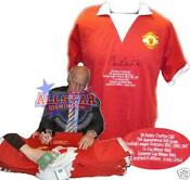 Bobby Charlton Signed Shirt