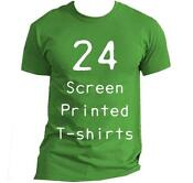 Custom Screen Printed T Shirts