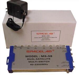 Spacelab Multi-Switch w/Antenna Input