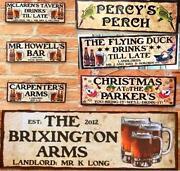 Personalised Pub Signs