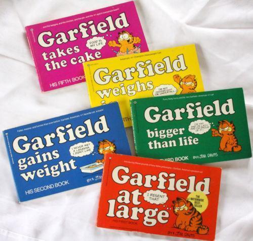 Garfield Book Collection Ebay