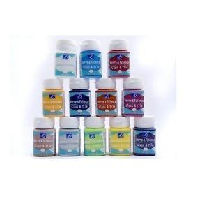 LEFRANC-BOURGEOIS-50ML-GLASS-PORCELAIN-TILE-CERAMIC-PAINT-TRANSPARENT-OR-OPAQUE
