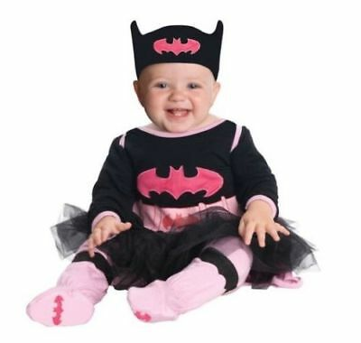 Infant Batgirl Costume (NEW Batgirl Costume Infant Size 0-6 Months Rubies Jumper Cape Pants Halloween)