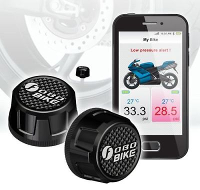 FOBO Bike Bluetooth 4.0 Theft Deterrent Android and iOS Compatible Tire Pressure