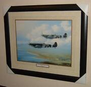 Framed Spitfire Print