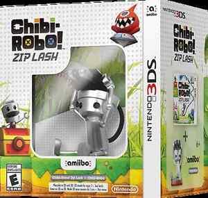 3DS Ensemble Chibi Robot Zip Lash *Neuf Scellé* + de 30 jeux 3DS