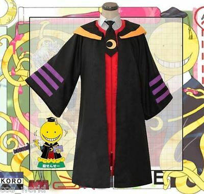 Halloween Assassination Classroom Korosensei Koro-sensei Cosplay Costume Cloak  - Sensei Halloween Costume