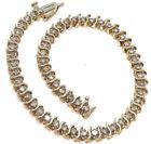 Unbranded K-M Tennis Fine Diamond Bracelets