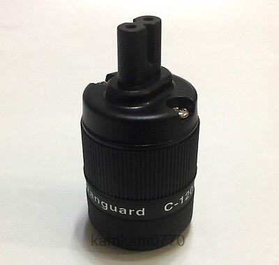 Vanguard Audio Grade CRYO Rhodium Plated Figure 8 IEC C7  Plug Female Connector