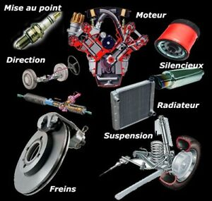 Suspension,transmission,moteur,direction, etc