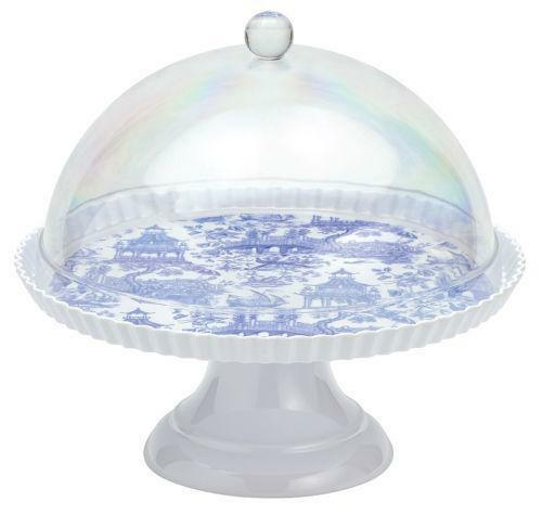 Cake Stand With Dome Ebay