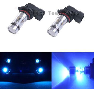 Fog Lights For Ford F150 2002 - 2016 10000K Blue 100W LED Bulbs H10 9145