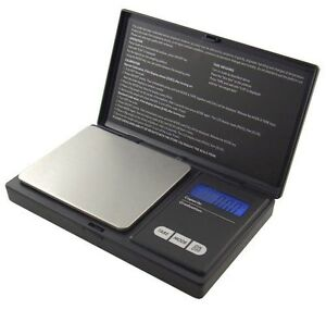 Smart Weigh SWS600 Elite Pocket Sized Digital Scale, Black