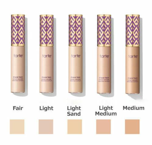 Tarte Shape Tape Double Duty Beauty Contour Concealer 10ml Choose Your Shade