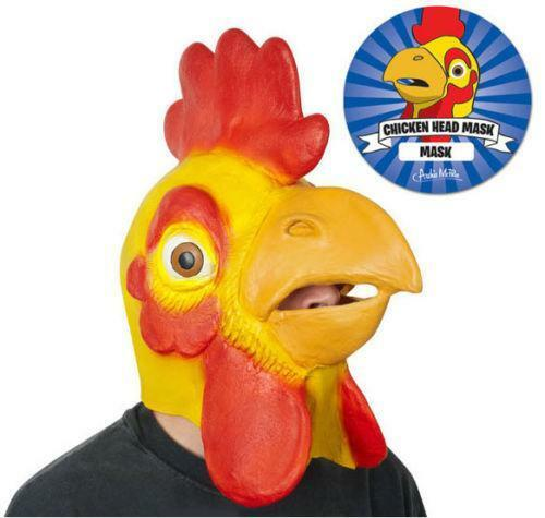 Chicken face mask - photo#28
