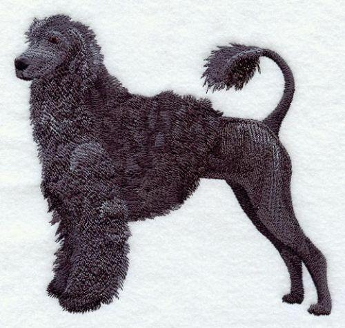 Embroidered Ladies Fleece Jacket - Portuguese Water Dog C9631 Sizes S - XXL