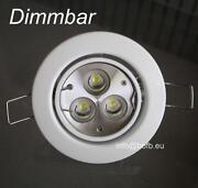 LED Einbau Dimmbar