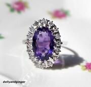 18ct Gold Amethyst Ring