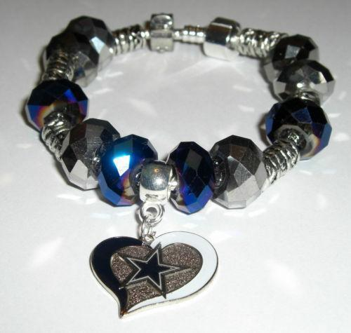 dallas cowboys charm bracelet dallas cowboys charm bracelet ebay 7064