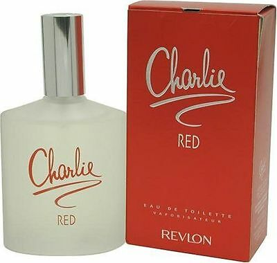 CHARLIE RED by Revlon Perfume for Women eau de toilette 3.4 oz/100ml NEW IN BOX