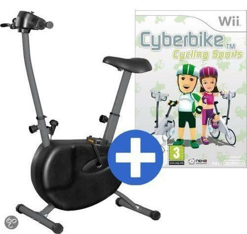 Cyberbike, Pack with Bicycle Included for The Nintendo Wii