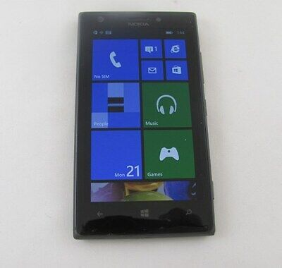 Nokia Lumia 925 AT&T Cell Phone WiFi w/Home Chrger GOOD