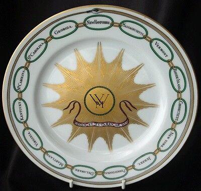 WASHIGNTON White House Commemorative Plate Woodmere