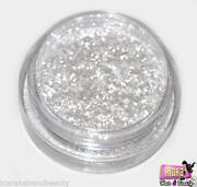 White Glitter Eyeshadow