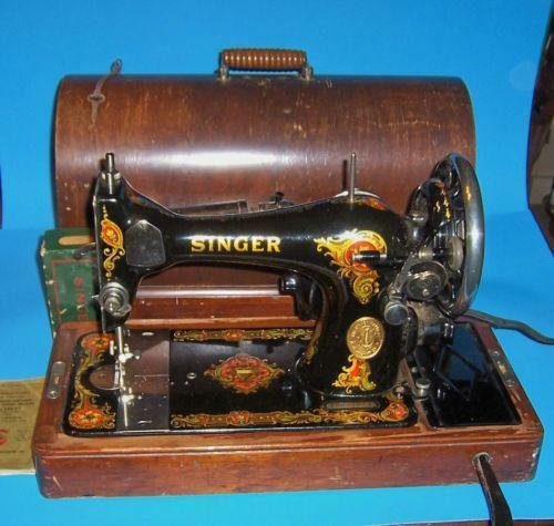 Electrical Sewing Machine : Antique electric singer sewing machine ebay