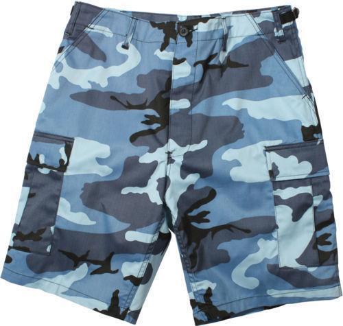 Blue Camo Shorts Ebay