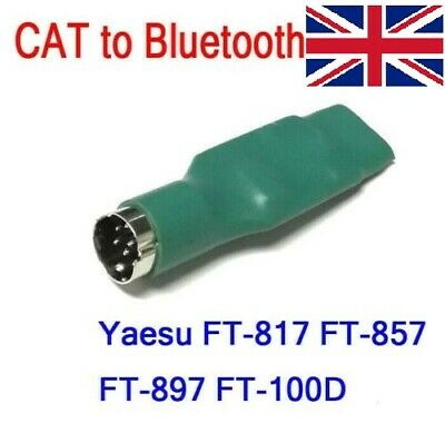 Interface converter CAT to Bluetooth for YAESU FT-817 FT-857 FT-897