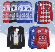 Ladies Christmas Novelty Jumpers