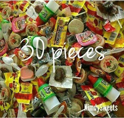 MEXICAN CANDY MIX, 30 pieces. Lucas, vero, de la Rosa, Indy!!