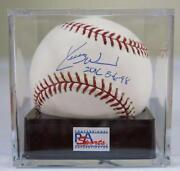 Kerry Wood Signed Baseball
