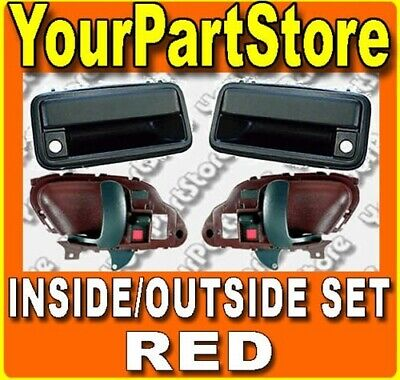 Power Smooth Black Side View Mirror Left /& Right Pair Set of 2 for 12-13 Civic