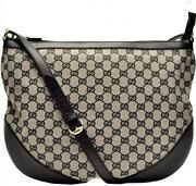 Authentic Black Gucci Handbag