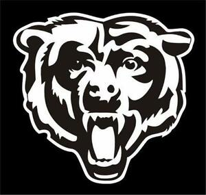 Chicago Bears Decal Football Nfl Ebay