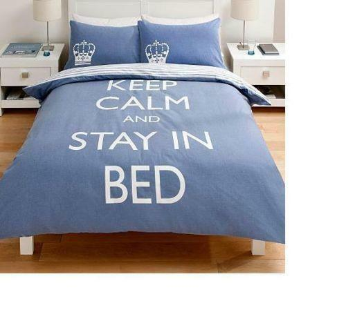Keep Calm Bedding Ebay
