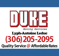 Duke Movers - Affordable Local & Long distance : (306) 205-2095