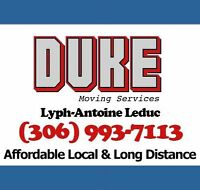Duke Movers - Local & Long distance - Call : (306) 993-7113