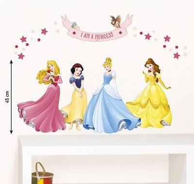 Kinder Wandtattoo Disney Prinzessinnen Kinderzimmer Aufkleber Home Sticker ()