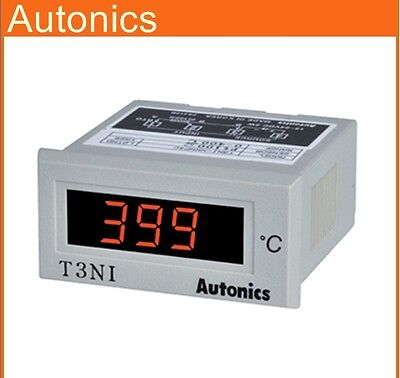 Digital Temperature Meterindicator Autonics T3ni-nxp4c Rtd Pt100 0399