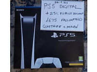 PLAYSTATION 5 PS5 DIGITAL EDITION & 25% PSPLUS VOUCHER SEALED IN HAND COLLECTION SOLD OUT