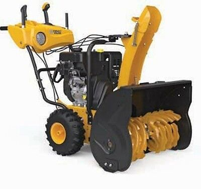 "Pow'R'kraft 28"" Snow Blower Snow Thrower w/302cc ElectricStart ~ 2 Year Warranty"