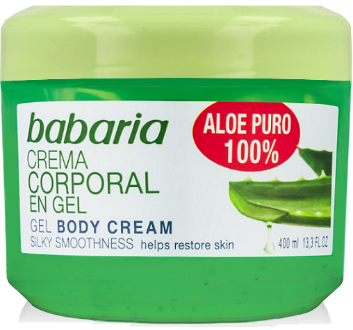 babaria Aloe Vera Gel 400ml feuchtigkeitspendend + belebend mit 100% reiner Aloe