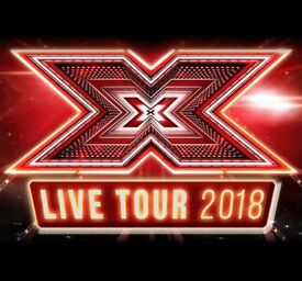 4 X Factor Live tickets Stalls Row H Glasgow Hydro Thursday 1st March - Below Face Value